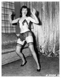 Betty Page dalla Collezione di Maurizio Rebuzzini